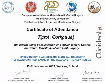 maxillo-facial surgeon