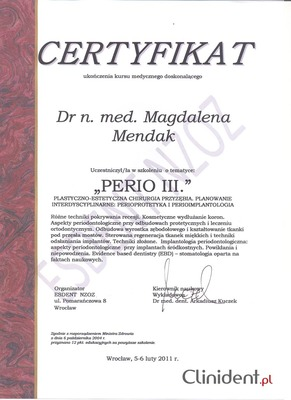 doctor of periodontology