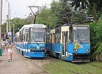 How to get to dental office by Tram in Wrocław